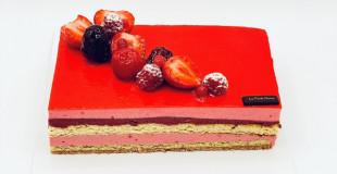 Flamenco aux Fruits Rouge