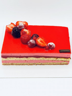 08 pers Flamenco aux Fruits Rouge