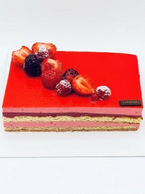 10 pers Flamenco aux Fruits Rouge